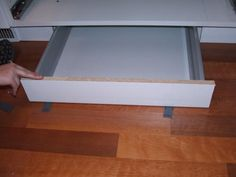 IKEA toe kick drawer hack step-by-step