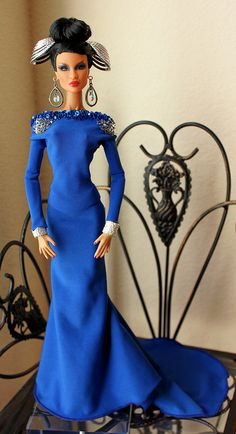 La Blue Lady   Flickr - Photo Sharing!   Mary, found this board with so many barbies.  It's called Barbie Bleu.  Rather than pinning them all (you may have already found this board) just go to her board. L