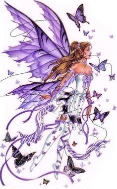 Flying Fairy Cross Stitch Pattern