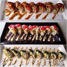 SOHO SUSHI !!! Hmmmm Sushi Time, Soho, Pasta Salad, Ethnic Recipes, Crab Pasta Salad, Small Home Offices