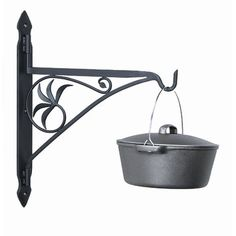 A great addition to hearth cooking accessories, the Minuteman Swivel Arm Fireplace Crane is simply designed for convenience. It is constructed out of wrought iron for optimum strength and durability. Fireplace Grate, Fireplace Doors, Fireplace Tool Set, Cast Iron Fireplace, Fireplace Fender, Fireplace Ideas, Crane, Fireplace Accessories, Wrought Iron