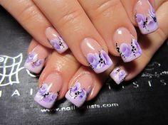 french by Olgitanails - Nail Art Gallery nailartgallery.nailsmag.com by Nails Magazine www.nailsmag.com #nailart
