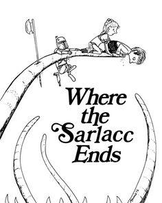 Annie Ink: Where the Sarlacc Ends