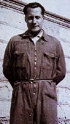 Primo de Rivera en la cárcel de Alicante. 1936.
