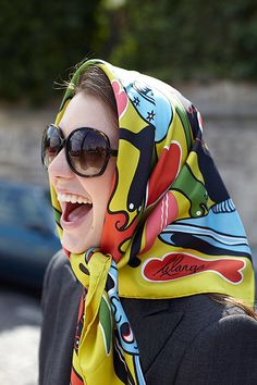 Serlin Associates — Artist management agency in New York, London and Paris Neck Scarves, Head Scarfs, Head Scarf Tying, Iranian Women, Elegantes Outfit, Scarf Design, How To Wear Scarves, Head And Neck, Courses