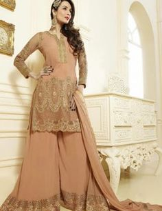 Malaika Arora Khan Georgette Fascinating palazzo suits