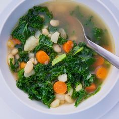 Vegan Kale Soup