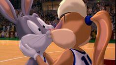 Bugs and Lola (Looney Tunes / Space Jam) (c) 1996 Warner Bros. Cute Relationship Goals, Cute Relationships, Kiss Bug, Bugs And Lola, Looney Tunes Space Jam, Love Scenes, Bugs Bunny, Dog Memes, Warner Bros