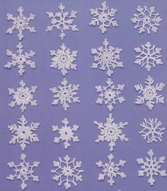Snowflake Crochet Patterns Teeny Tiny