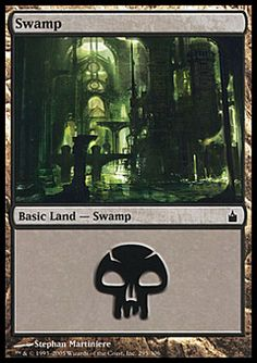 Swamp (1) ($.01) Price History from major stores - Ravnica - MTGPrice.com Values for Ebay, Amazon and hobby stores!