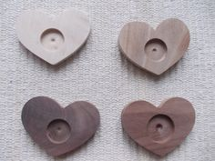 heart-shaped pendant/brooch base for jewel making. In the centre of the pendant there is a round-shaped frame for a cabochon, which gives a more attractive look to the pendant. You can put a little picture, textil or napkin into the hole and then a glass cabochon, too. It is polished. craft supply. wooden blank setting. wooden resin tray. heart shpaed pendant. Blank bezel cup https://www.etsy.com/listing/126589210/4-pieces-dark-walnut-ash-woodenbeech?ref=related-4