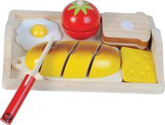 Houten Snijset Ontbijt incl. Dienblad