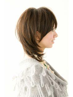 ビアンコ カーロ(Bianco caro)ミディアムレイヤー Medium Hair Styles, Short Hair Styles, Haircut And Color, My Hairstyle, Hair Cuts, Hair Color, Beauty, Fashion, Hair