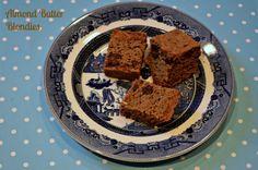 Enjoy a #wintertreat - almond butter brownies