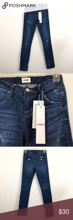 25bf71648de4b TAKING BEST OFFER❗️NWT Hudson Girls Skinny Jeans New with tags Hudson girls  distressed skinny jeans. Size Waist is 13 across, rise is inseam is 31 and  leg ...