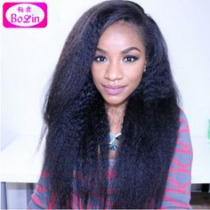 180.60$  Buy here - http://alijtx.worldwells.pw/go.php?t=32670240719 - 6A Silk Top Full Lace Wig Virgin Peruvian Full Silk Base Wig Yaki Silk Base Lace Front Human Wigs kinky Straight For Black Women 180.60$