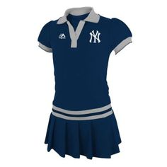 Girls 4-6x Majestic New York Yankees Polo Dress $12.00