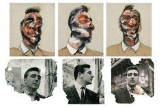 George Dyer by John Deakin for Francis Bacon