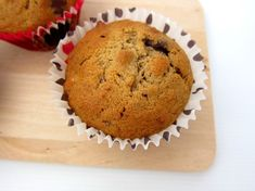 Chubby Hubby - Breakfast treats: banana, nuts and chocolate chips muffin