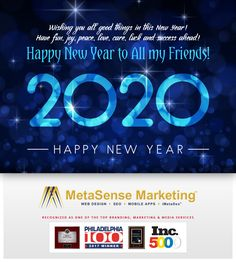 Happy New Year 2020 From MetaSense Family! My Friend, Friends, Afrikaans, Mobile App, Happy New Year, Tarot, Wish, Have Fun, Celebration