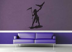 Ranger Silhouette - Wall Decal - No 1  #fighter #decoration #decal #DungeonsAndDragons #gamer #character #dnd #CutSticker #décor #game