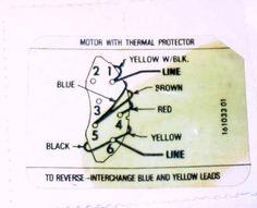Ao Smith Electric Motor Wiring Diagram Electrical Pinterest