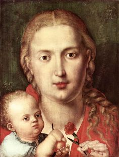 The Madonna of the Carnation - Albrecht Durer