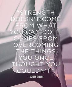 True...beyond just fitness!