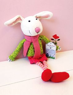 100% organic plush cotton delight made in a Fair Trade approved factory.