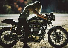 "mithatc: "" scrambler081: "" Thruxton Bonneville ""  this bike…  ""                                                                                                                                                      More"