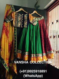 Garba Chaniya Choli, Garba Dress, Kids Lehenga Choli, Navratri Dress, Bridal Lehenga, Half Saree Designs, Choli Designs, Lehenga Designs, Blouse Designs