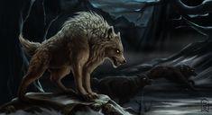 Warg by Brevis--art.deviantart.com on @DeviantArt