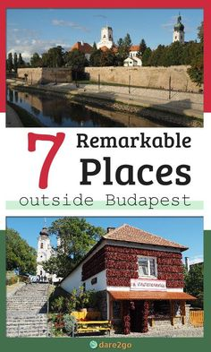 On this western Hungary road trip, you will experience 7 unusual, outstanding and memorable places in the countryside, and the small cities and towns. European Travel Tips, Europe Travel Guide, European Destination, Travel Guides, Travel Advice, Travel Destinations, 7 Places, Best Places To Travel, Road Trip Hacks