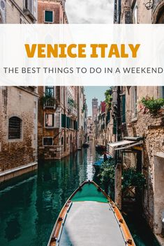 Weekend In Venice, Week End Romantique, Italy Destinations, Honeymoon Destinations, Weekend France, Italy Travel Tips, Venice Travel Guide, Budget Travel, Things To Do In Italy