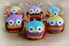 Crochet PATTERN  Christmas Ball  OWL by ZoomYummy on Etsy, $3.90