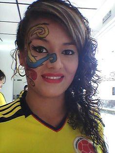 Maquillaje artístico COLOMBIA !!!