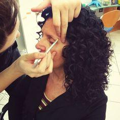 #hair and #makeup #riccioli #viola Long Hair Styles, Makeup, Beauty, Fantasy, Make Up, Long Hair Hairdos, Face Makeup, Long Haircuts, Long Hair Cuts