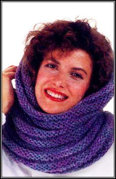 Free Knitting Hooded Cowl Patterns | Free Knitting Pattern kjif-hood Knitted Hood : Lion Brand Yarn Company