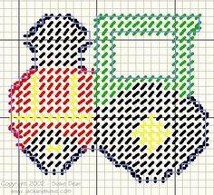 Free Plastic Canvas Magnet Patterns | Plastic Canvas Ornaments