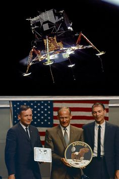 Learn about Apollo historic journey to the Moon in this summary of all significant events during the mission to put humans on the lunar surface. Apollo Space Program, Apollo 11 Mission, Nasa Photos, Moon Missions, Neil Armstrong, Vintage Space, Space Travel, Astronomy, History