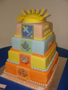Boy Scouts Cake by cakesbysina, via Flickr