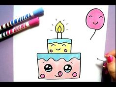 KAWAII PIZZA SELBER MALEN :) - YouTube
