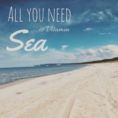 All you need is Vitamin Sea.