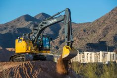 John Deere Updates Maneuverable, Reduced-Tail-Swing Excavators :: Story ID: 29732 :: Construction Equipment Guide