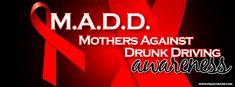 Madd Mothers Against Drunk Driving Awareness Facebook Cover