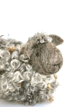 Online Needle Felting Classes.  Make your own flock of sheep!