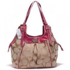 Coach Madison Op Art Shantung Maggie Bag HotPink U06074     http://www.8minzk.com/f/Coach-Outlet-Info/  light-luxury.com