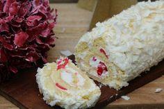 Recette de la bûche de Noël à la noix de coco