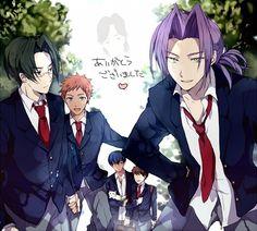Gakuen Handsome, Hatoful Boyfriend, Handsome Anime, Shounen Ai, Fandoms, Image Boards, Chibi, Nerd, Marvel