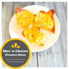 Mac N Cheese Wonton Bites From Seduction in the Kitchen